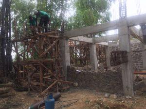 Impressionen einer philippinischen Baustelle